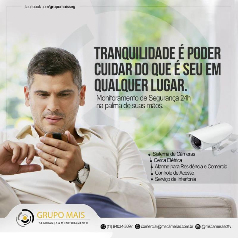 Foto - SEGURANÇA NA PALMA DA SUA MÃO