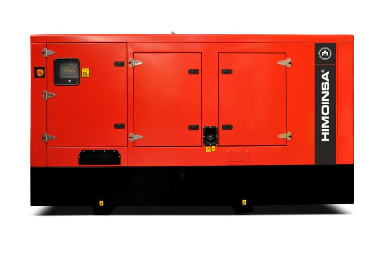 Foto - HIMOINSA do Brasil- Grupo Gerador a Diesel Carenado e Isonorizado 450 A 550 KVA