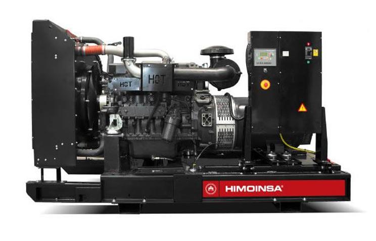 Foto - HIMOINSA do Brasil- Grupo Gerador a Diesel Aberto - 180 A 250 KVA