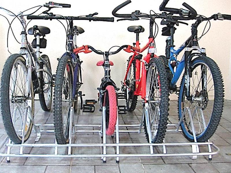 Foto - Bicicletário 2, 3, 4 e 5 Posições - 100% Alumínio