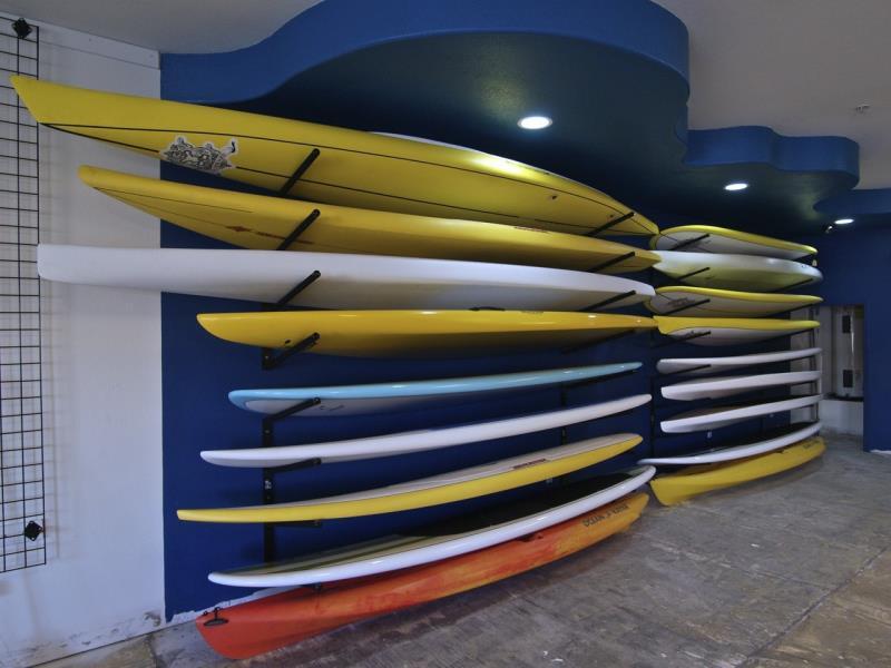 Foto - Rack de Parede para Pranchas de Surf e Standup