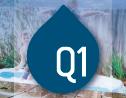 Logo da empresa Q1 Ambiental