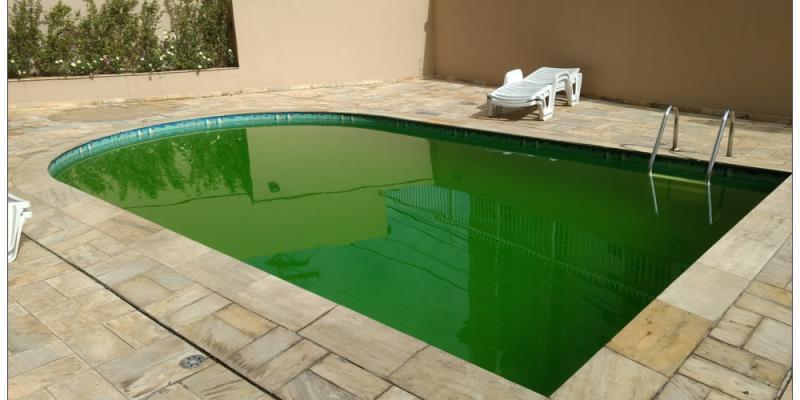 Foto - Supranew - Suprimentos do Brasil - Consultoria para tratamento de piscina - Antes