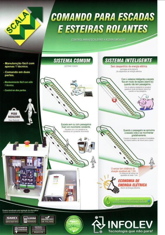 Foto - Modernização Tecnológica - Esteiras e Escadas Rolantes