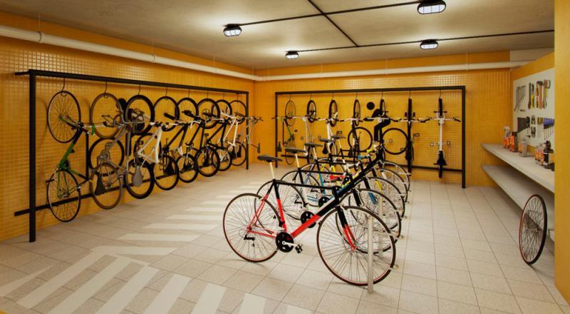 Foto - PWX Service - Bicicletário