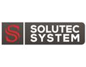 Logo da empresa Solutec System Segurança Eletrônica.