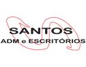Logo da empresa Santos Adm e Escritórios