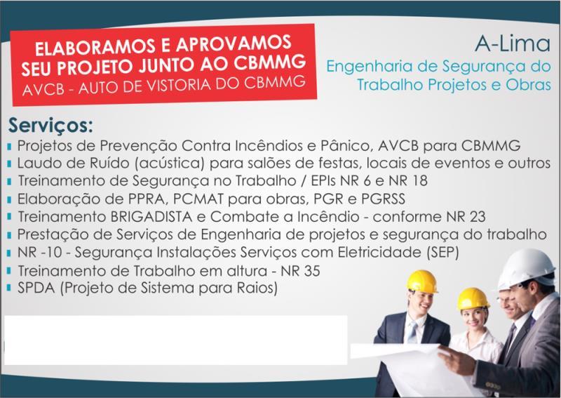 Foto - A-Lima Segurança do Trabalho e Prevenção Contra Incêndio