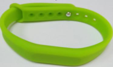Foto - Pulseiras de silicone personalizadas
