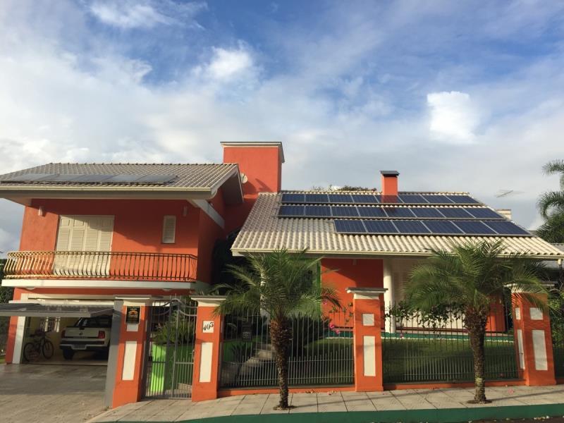 Foto - Gerador solar