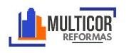 Logo da empresa Multicor Reformas