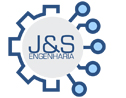 Logo da empresa J&S Engenharia e Comércio
