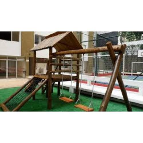 Foto - Playgrounds em tronco