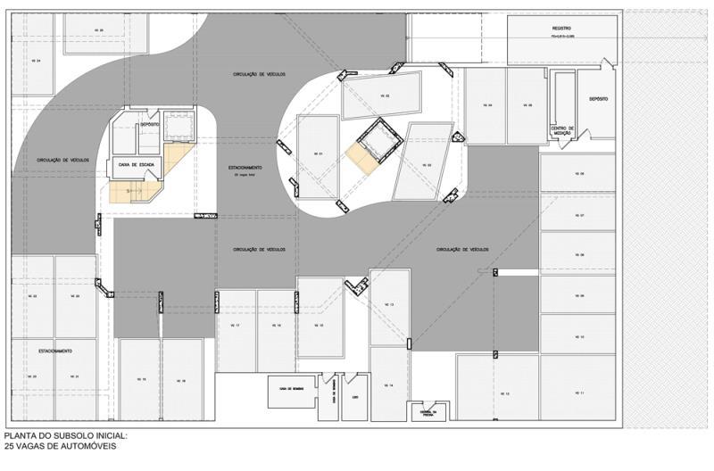 Foto - SR Arquitetura - Otimização de vagas na garagem - Antes